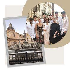 Tudo pronto para o desfile de Alta Moda de inverno 2018 da @dolcegabbana que acontece na Piazza Pretoria em Palermo. Acima nossa diretora de moda @barbaramigliori nossa colunista @costanzapascolatos2g e Georgina Brandoloni. Acompanhe o show ao vivo em nosso #stories!#dglovespalermo #dolcegabbana #voguenacouture  via VOGUE BRASIL MAGAZINE OFFICIAL INSTAGRAM - Fashion Campaigns  Haute Couture  Advertising  Editorial Photography  Magazine Cover Designs  Supermodels  Runway Models
