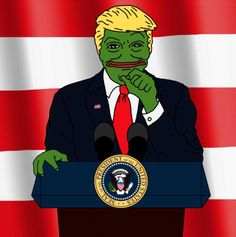 Pepe the Frog's Creator, Matt Furie, Discusses Trump Memes Lady Gaga, Million Dollar Extreme, Troll, Donald Trump, Dankest Memes, Funny Memes, Frog Meme, War Craft, Public Enemies