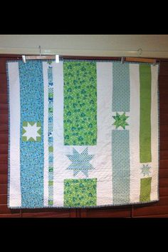 quilt back... I like this