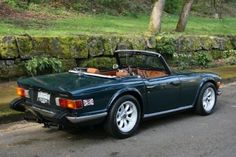 1974 Triumph TR6 - of all my dad's British cars, this was my absolute favorite.