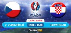 2016 Avrupa Şampiyonası'nda (EURO 2016) sahne alan Çek Cumhuriyeti, ikinci maçında D grubundaki rakibi Hırvatistan ile karşılaşacak. Bu mücadele Stade Geoffroy Guichard Stadyumu'nda oynanacak. Hırvatistan ilk maçında Türkiye'yi 1-0 mağlup ederken, Çek Cumhuriyeti rakibi İspanya'ya 1-0 yenildi. Sizde kazananlardan olmak istiyorsanız EN YÜKSEK ORANLAR ile bahisinizi DinamoBET'de yapın! https://www.dinamobet4.com/tr#/