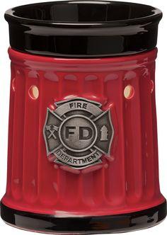 Scentsy firefighter warmer