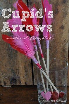 Valentine\'s Cupid Crafts for Kids