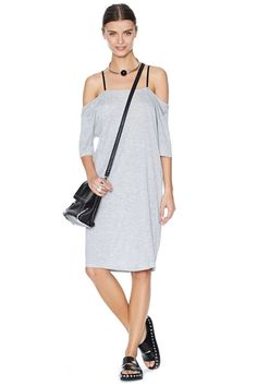 Cheap Monday Keeping Dress - Heather Gray