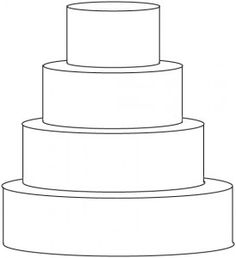 Cake Templates For All Diffe Shapes Of Cakes
