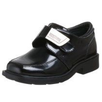 Kenneth Cole Reaction Boys fast cash 2 Buckle, Black, Size Little Kid Leather School Shoes, Black Leather Sneakers, Boys Dress Shoes, Boy Shoes, Boys School Shoes, Boys Loafers, Toddler Shoes, Clarks, Sneakers Fashion
