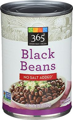 365 Everyday Value, Black Beans No Salt Added, 15 oz Brought to you by Whole Foods Market Ready to serve Whole Foods Smoothies, Whole Foods 365, Whole Foods Market, Vegan Smoothies, Vegan Recipes Beginner, Recipes For Beginners, Raw Food Recipes, Gourmet Recipes, Smoothie Prep