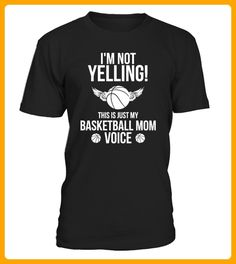 This Is Just My Basketball Mom Voice - Basketball shirts (*Partner-Link)