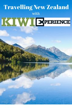 The Kiwi experience is a great way to travel New Zealand without the worry of finding transport along the way. The bus journey covers. Ways To Travel, All Pictures, Kiwi, New Zealand, Travelling, About Me Blog, Journey, Mountains, Board