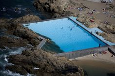Gallery of These Stunning Photos Commemorate the 50th Anniversary of Alvaro Siza's Pool On The Beach - 2