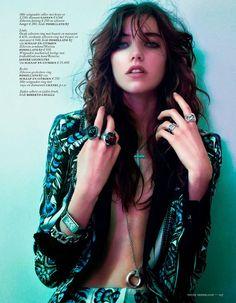 Vogue Netherlands September 2014   Grace Hartzel by Boe Marion [Editorial]