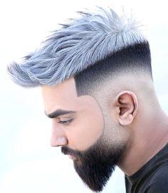 Männer graue trend haare Graue Haare