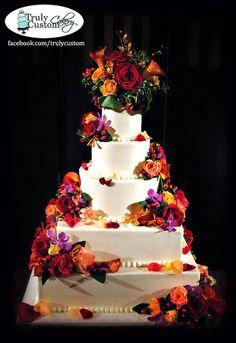 Buttercream & Fresh Flower's Wedding Cake