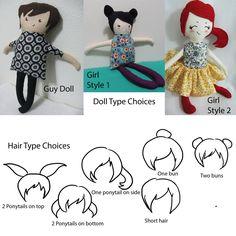 redheaded rag doll.... check