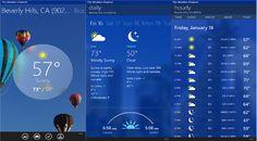 3 Apps móviles del Tiempo