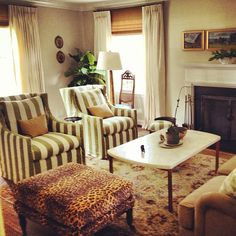 Pure Style Home: Clients' Traditional Living Room Before & After