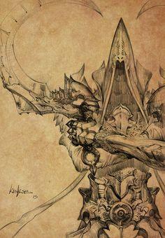 Reaper of souls by KEKSE0719.deviantart.com on @deviantART