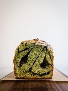 Matcha Black Sesame Babka
