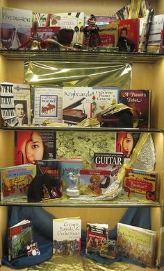 Music   Library Book Display