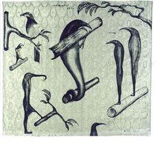 Bill Hammond, Bird Grip, 1994