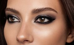 Learn how to create Charlotte Tilbury's ultra-cool Rock Chick look: sultry, smoky eyes and nude lips à la Debbie Harry and Kate Moss.