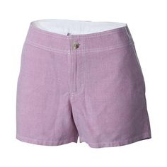 Free Shipping Available | Sassy, short and ready for fun on the water! The Women's Solar Fade Short by Columbia is perfect for a day of boating with its crisp, tailored fit and Omni-Shade technology providing UPF 30 sun protection. Made of a super-soft brushed cotton weave with pockets all around, these sun-washed shorts from Columbia's PFG (Performance Fishing Gear) line are feminine, functional and stylish.