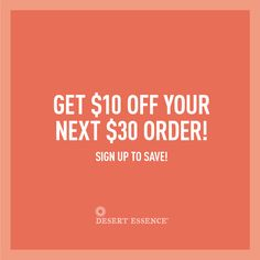 Love a good promo code? Sign up for exclusive savings - $10 off your next $30 order!