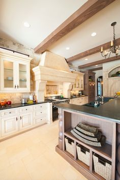 Our dream kitchen is one that allows room for all of our guests and food. #HomeInspiration
