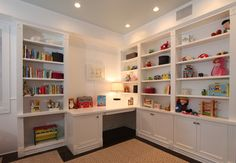 Like shelving, desk, cabinets...