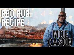 Moe Cason Rib Rub Recipe - Learn how to make a Kansas City style Rib Rub from BBQ Pitmaster Moe Cason of Ponderosa BBQ Barbecue Recipes, Grilling Recipes, Grilling Tips, Brisket Rub, Brisket Meat, Bbq Dry Rub, Dry Rubs, Bbq Rub Recipe, Kitchens