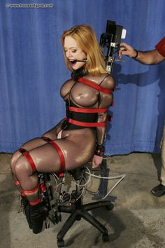 Latex bondage xxx