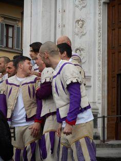 Calcio Storico White Team in Florence