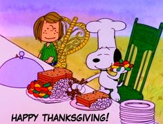 Our Thanksgiving traditions, besides watching the Macy's parade on television, includes watching  A Charlie Brown Thanksgiving.      Thi...