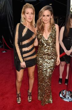 Alicia Silverstone et Ellie Goulding aux American Music Awards 2015