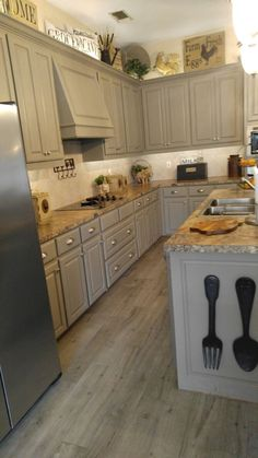 decorating above kitchen cabinet antiques nature decorating rh pinterest com