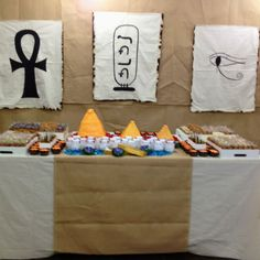 My youngest son's Egypt Party!