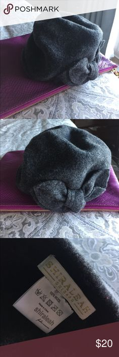 Hat Ready for cold season .. this is a great hat with cute bow detail to keep you warm Accessories Hats