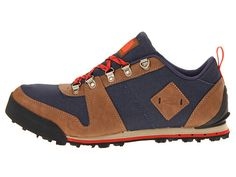 The North Face Back-To-Berkeley Low Down Canvas Cosmic Blue/Rare Earth Brown - Zappos.com Free Shipping BOTH Ways