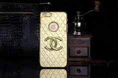 Best Buy Chanel iPhone 6 6S Cases - Gold