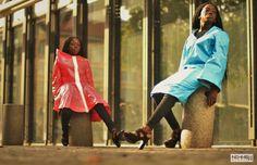 #DVORA #photoshoot #lookbook #fashiondesign #fashionforward #architechturalclosing #blackfashion #twins #baidsgang #paris #raincoat #rainwear #womanswear