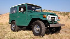 This is the nicest example of a classic FJ40-generation Toyota Land Cruiser that you're likely to find. It's as clean as can be, free of rust, and shows just 5,265 original miles on its odometer. It's also for sale on Bring A Trailer, and if you want it you'll need a massive pile of cash. With one day left on the auction, the top bid sits at $100,000…