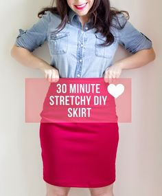 diy sewing projects How to sew a fab skirt in 30 minutes. The perfect DIY skirt tutorial including instructions and free pattern - How to sew a fab skirt in 30 minutes. The perfect DIY skirt tutorial including instructions and free pattern Sewing Patterns Free, Free Sewing, Clothing Patterns, Free Pattern, Pattern Sewing, Skirt Pattern Free, Diy Clothing, Sewing Clothes, Sewing Shorts
