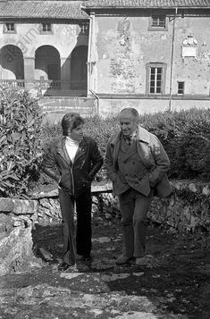 Louis de Funès with his son Olivier
