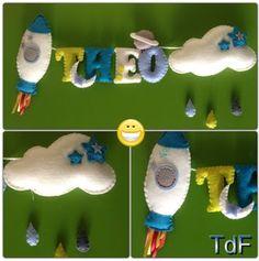 Telón de Fieltro: Letreros infantiles