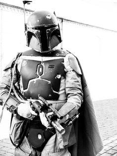 """ Quite simply, the coolest bounty hunter in all the Galaxy. Star Wars Boba Fett, Star Wars Darth, Darth Vader, Star Wars Pictures, Star Wars Images, Boba Fett Tattoo, Star Wars Room, Star Wars Models, Star Wars Tattoo"
