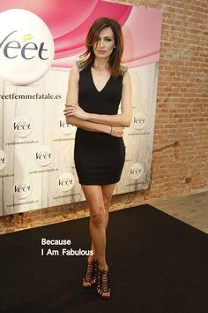 Fabulously Spotted: Nieves Alvarez Wearing Amen Couture - Veet 'Femme Fatale' Presentation  - http://www.becauseiamfabulous.com/2014/03/nieves-alvarez-wearing-amen-couture-veet-femme-fatale-presentation/