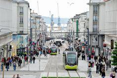 """Résultat de recherche d'images pour """"photos de brest rue de siam tramway"""""""
