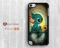 Stitch and Turtle  ipod 4 case  ipod  5 case  ipod  by Atwoodting, $7.99