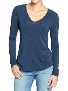 Womens V-Neck Tees