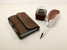 ardeas / Kozeny zapisnik A6 - na želanie  / leather bookbinding / handmade / notebook / diary / Journal / viac na www.ardeas.sk